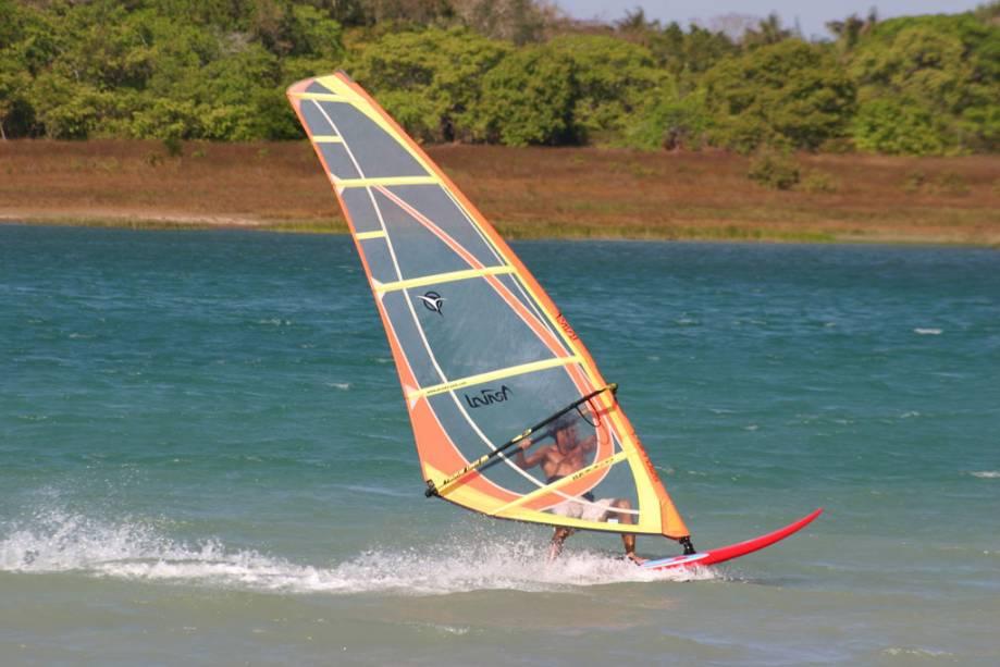 Os fortes ventos fizeram do estado do Ceará a capital brasileira do kitesurf