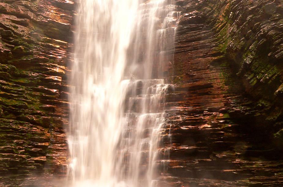 Cachoeira do Buracão, em Ibicoara (BA)