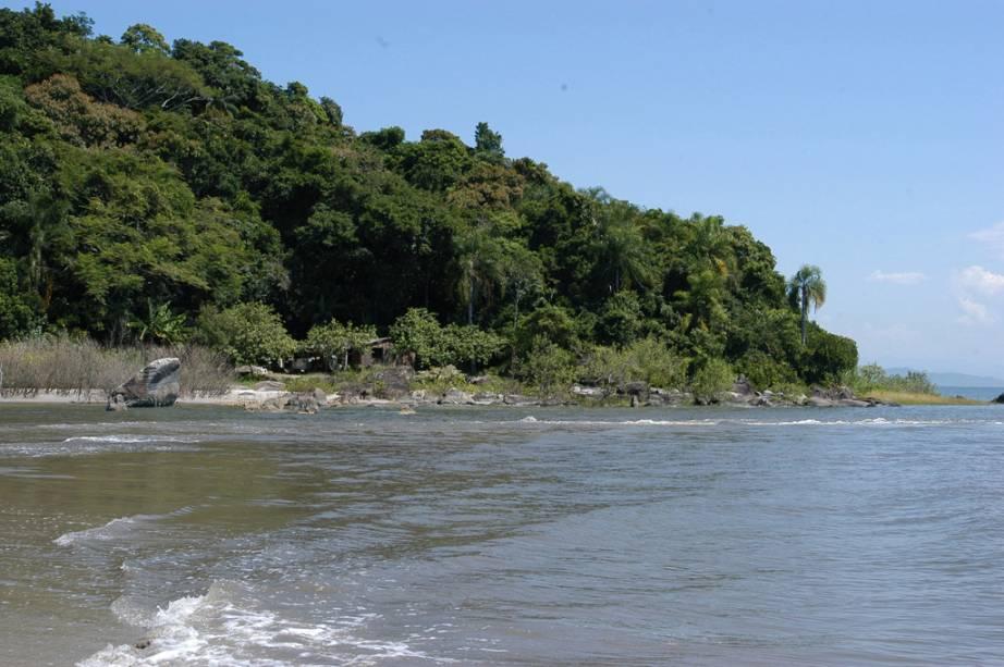 Marujá é uma vila de pescadores onde se concentra o alojamento