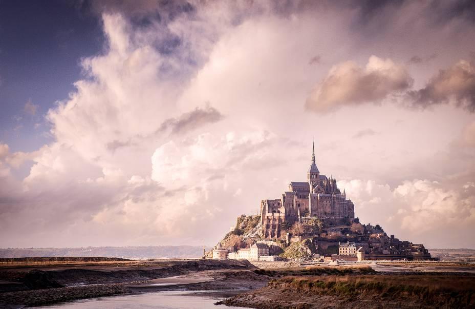 Monte Saint Michel, na Normandia