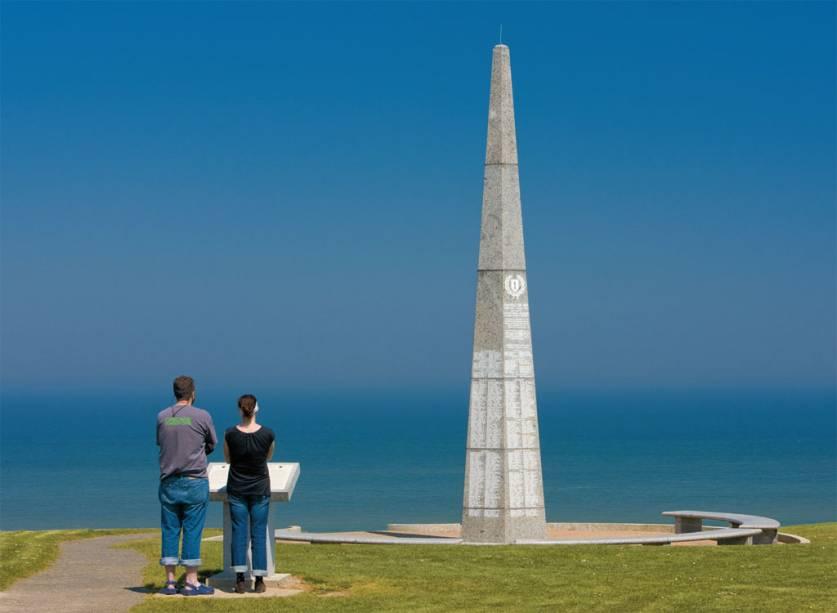 Memorial à 1ª Divisão de Infantaria na Normandia