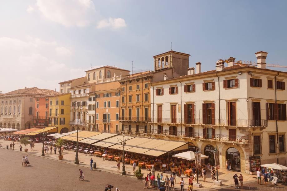Com a chegada do outono, a cidade de Verona fica ainda mais romântica com a incidência da luz dourada do sol poente