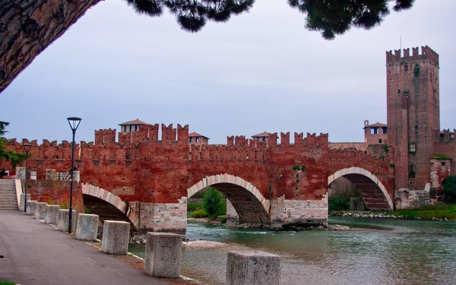 Castelo e museu do Castel Vecchio