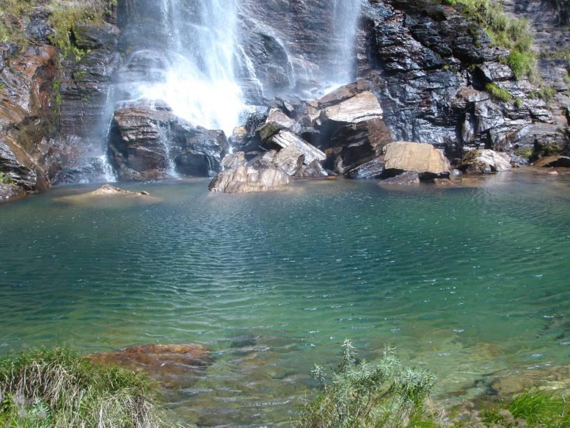 Cachoeira do Cerradão, no Parque Nacional da Serra da Canastra