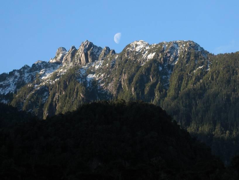 Cerro Bufalo, não Parque Nacional Alerce Andino
