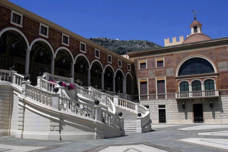 Palácio da Corte de Honra do Principado de Mônaco