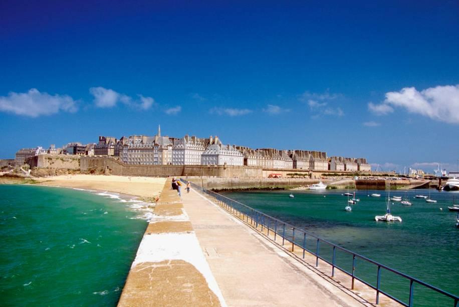 Saint Malo é um dos destinos mais visitados da Bretanha