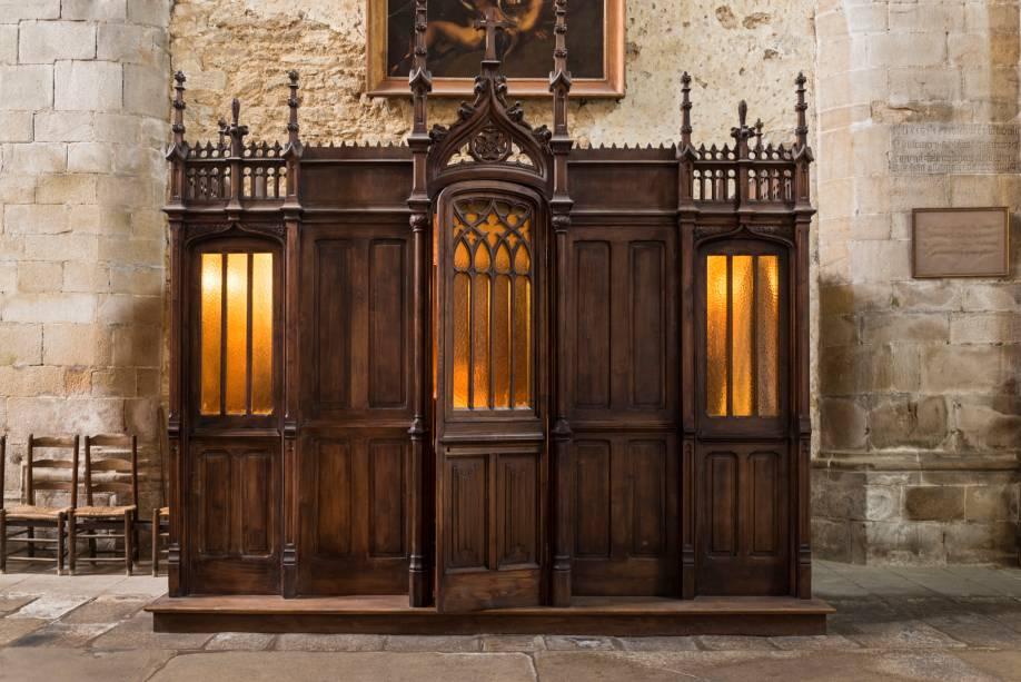 Confessionário da Catedral de Saint Malo