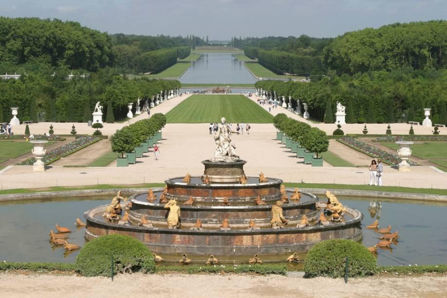 O Rei Luís XIV apaixonou-se pelo paisagista André Lê Nôtre para criar os imbatíveis jardins do Palácio de Versalhes