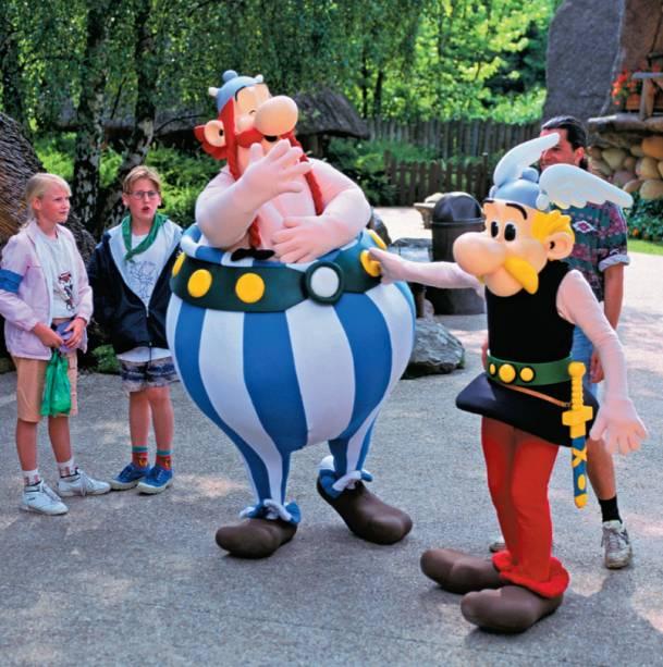 Obelix e Asterix em Paris