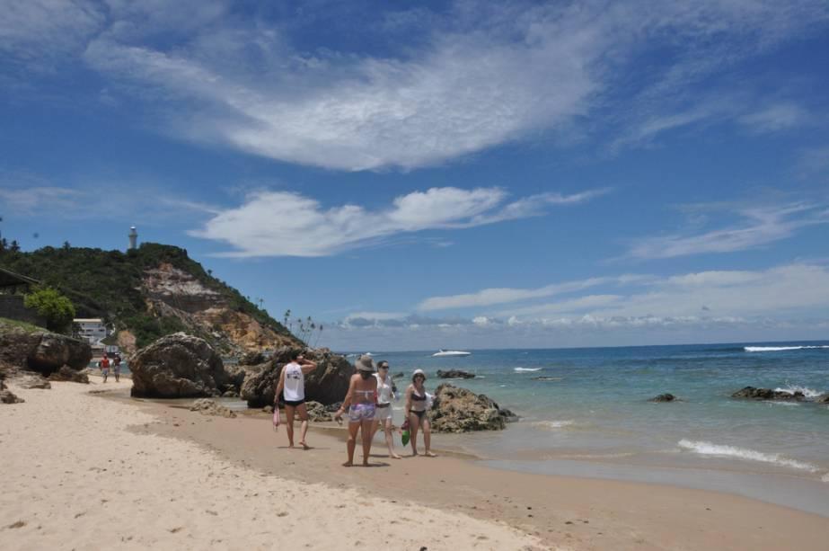Praia do morro de sao paulo