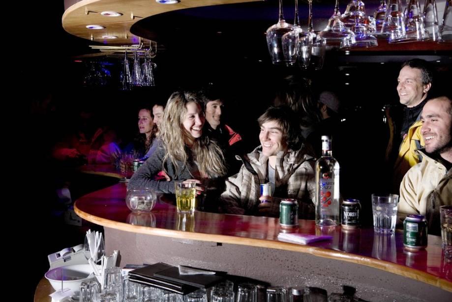 Os bares e restaurantes de Valle Nevado são o principal ponto de encontro pós-esqui