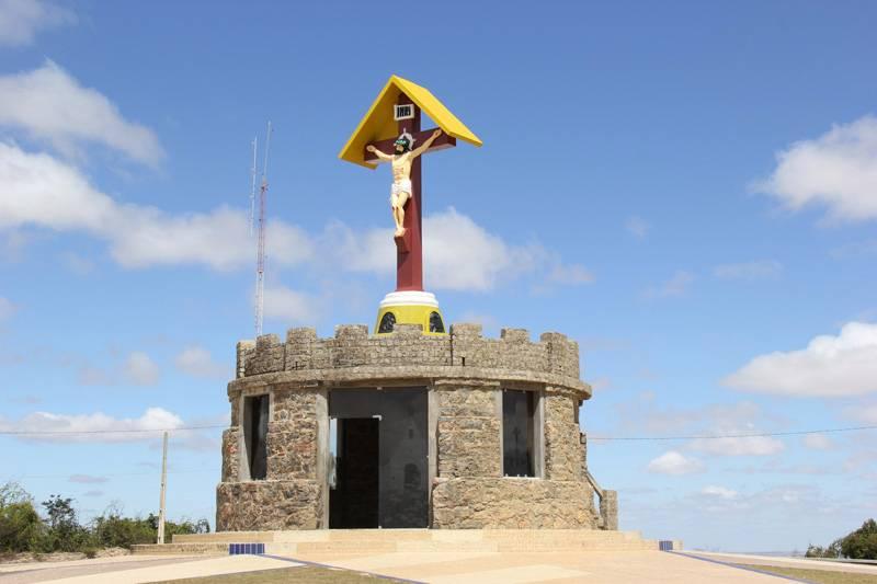 Cristo do Magano, mirante criado em 1954 pelo artista Renato Pantaleão
