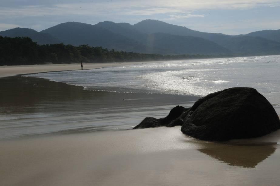 Praia de Lopes Mendes, na Ilha Grande