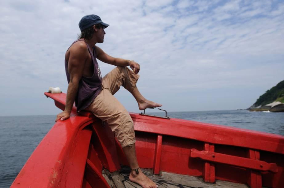 Pescadores na Ilha Grande
