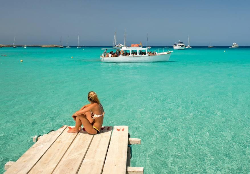 A ilha de Formentera fica a 30 minutos de Ibiza