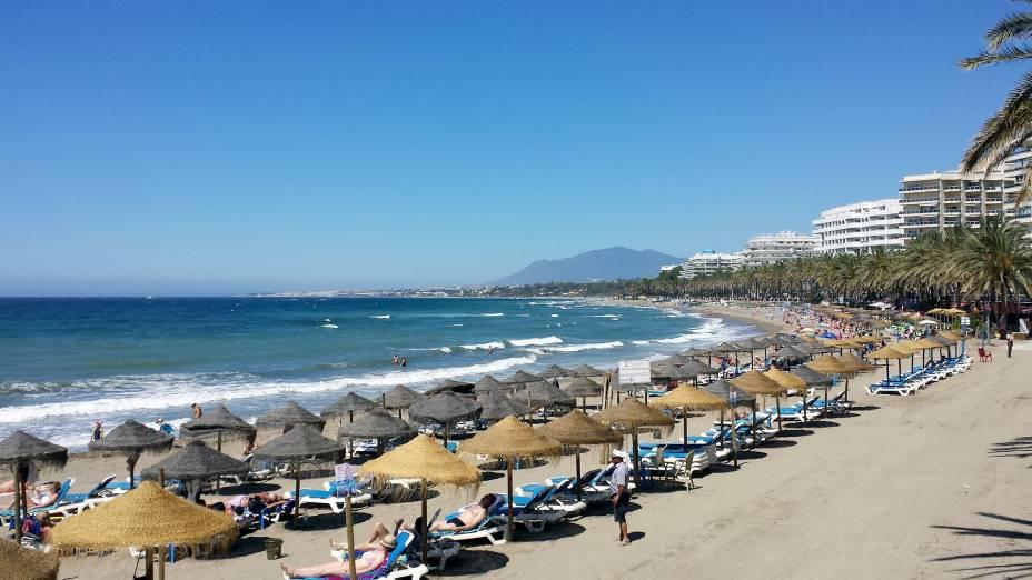 Marbella é um dos destinos litorâneos mais importantes da Espanha