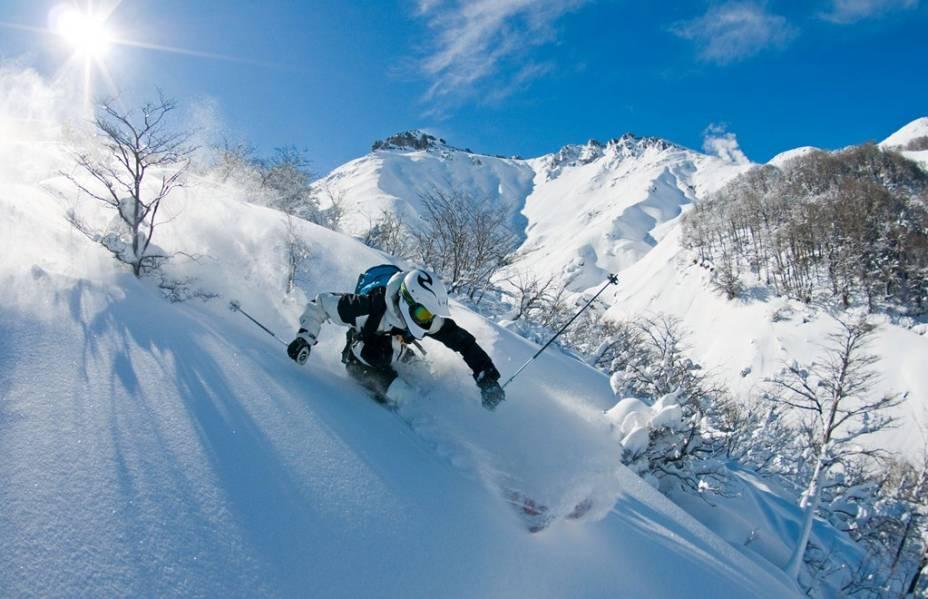 Esquiar em Termas de Chillán