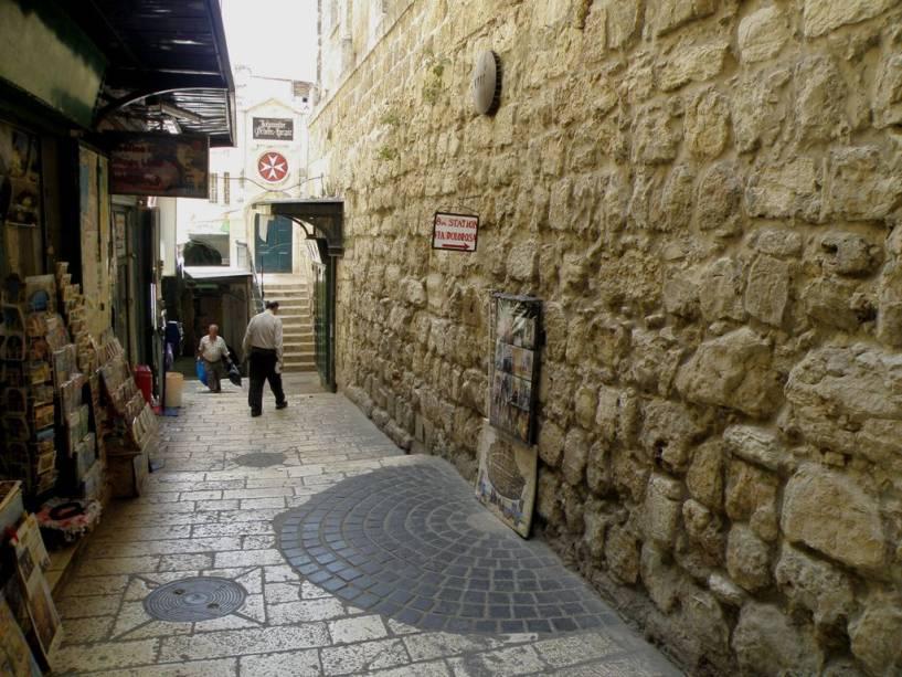 Via Dolorosa Station 8, Jerusalém