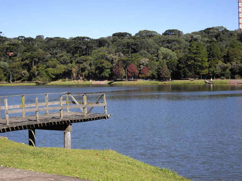 Lago São Bernardo, em São Francisco de Paula, Rio Grande do Sul