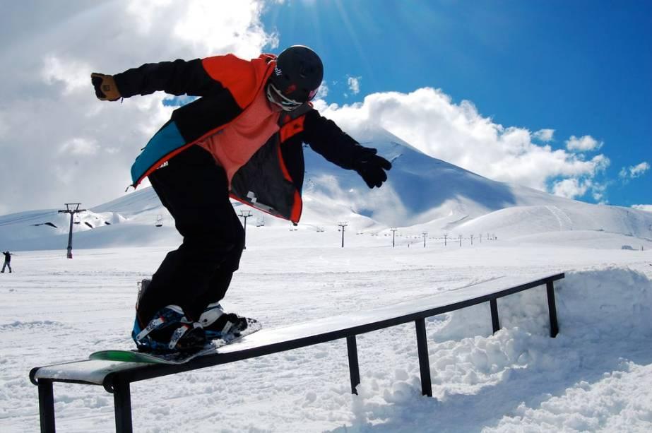 Corralco promete expandir sua infraestrutura de snow park nas próximas temporadas
