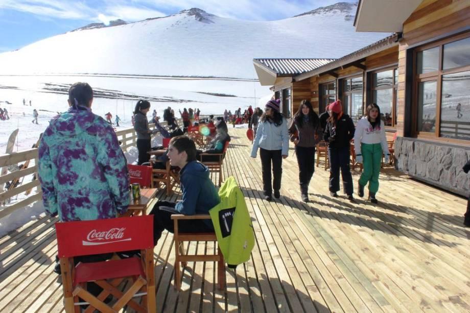 Apesar de novo, Corralco já atrai bons adeptos no inverno chileno