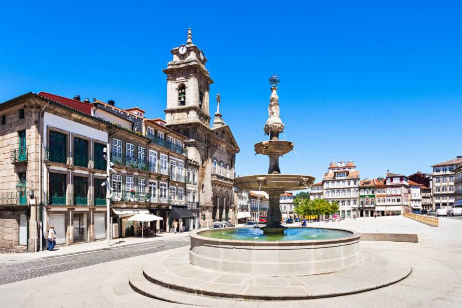 Largo do Toural em Guimarães