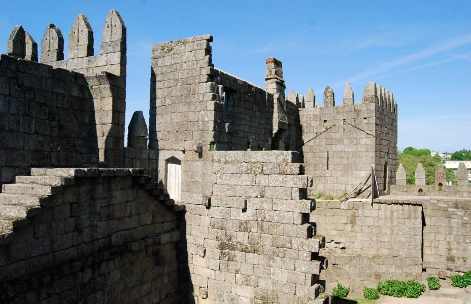 Ruínas medievais de Guimarães