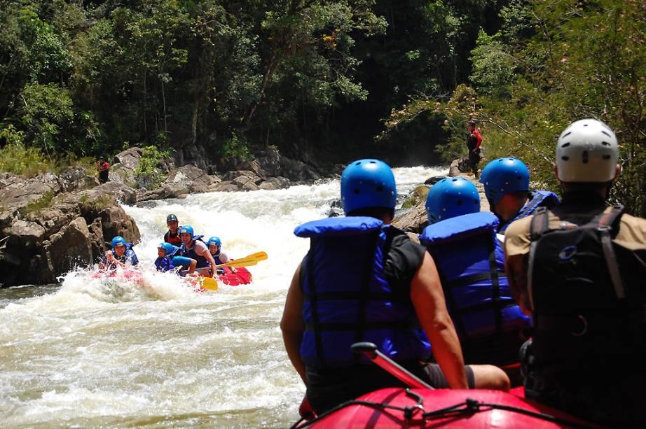 Rafting no Rio Paraibuna, em São Luiz do Paraitinga, está no mapa de aventuras da região
