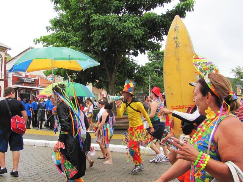 São Luiz do Paraitinga se acostumou a ver suas ruas lotadas durante o carnaval