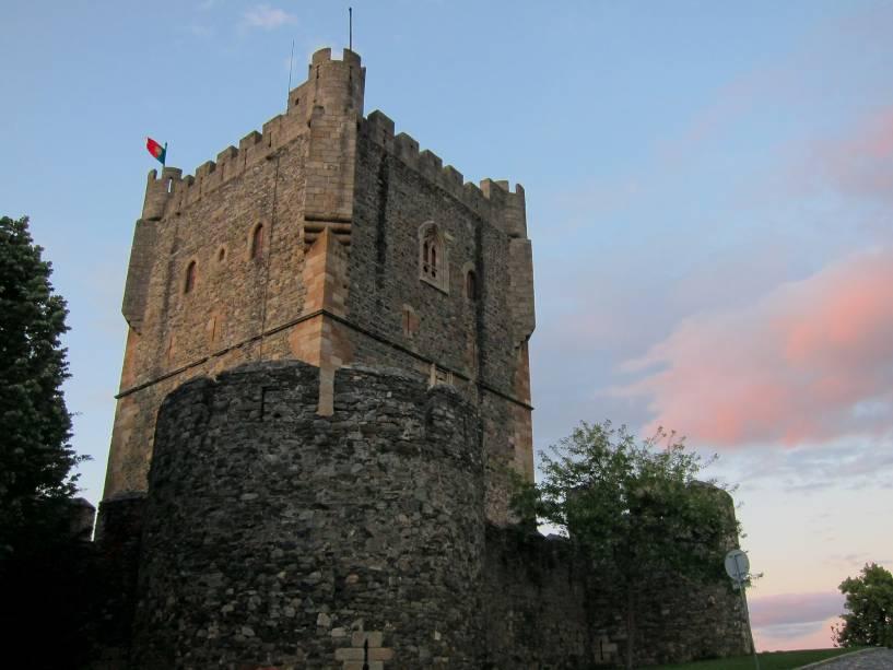 Castelo de Bragança na região de Trás-os-Montes