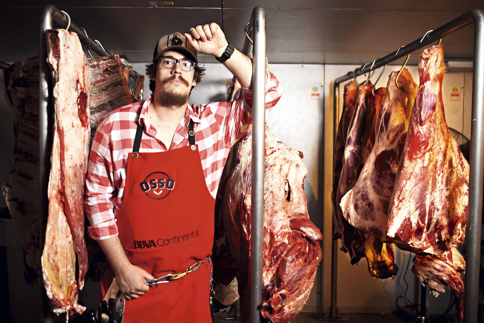 Chef Renzo Garibaldi do carnívoro comedor de ossos
