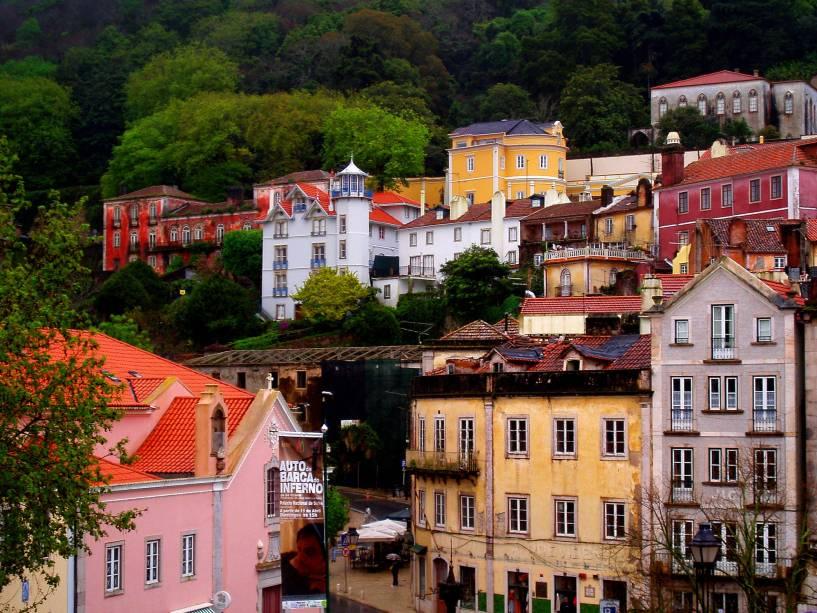 Casas no centro de Sintra