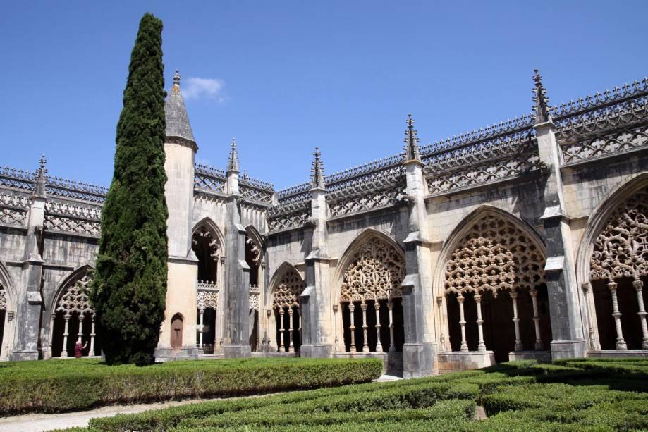 Pátio do Mosteiro de Santa Maria da Vitória