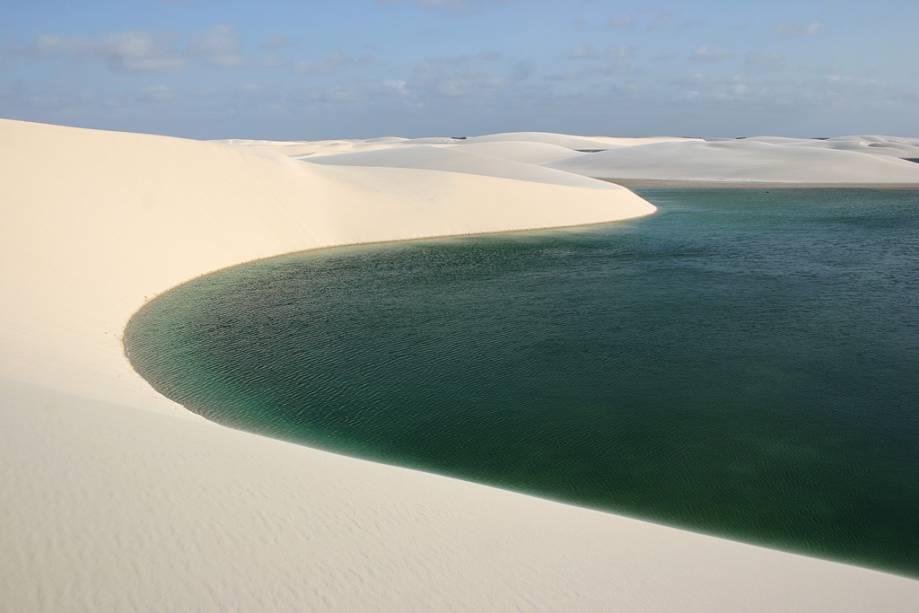 Dunas e lagoas de Santo Amaro do Maranhão, local ainda pouco explorado pelos turistas