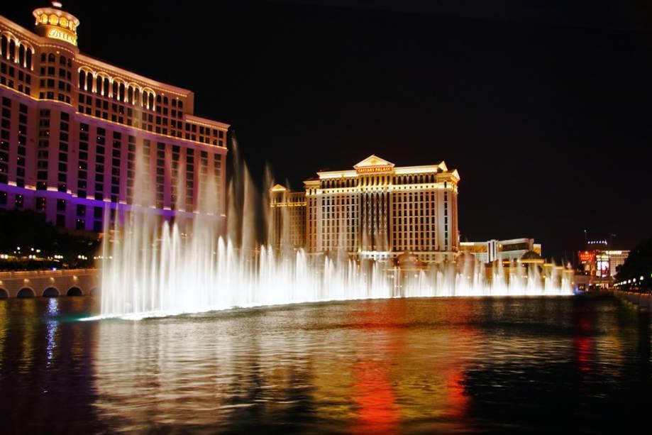O Bellagio é um dos hotéis mais tradicionais e luxuosos de Las Vegas