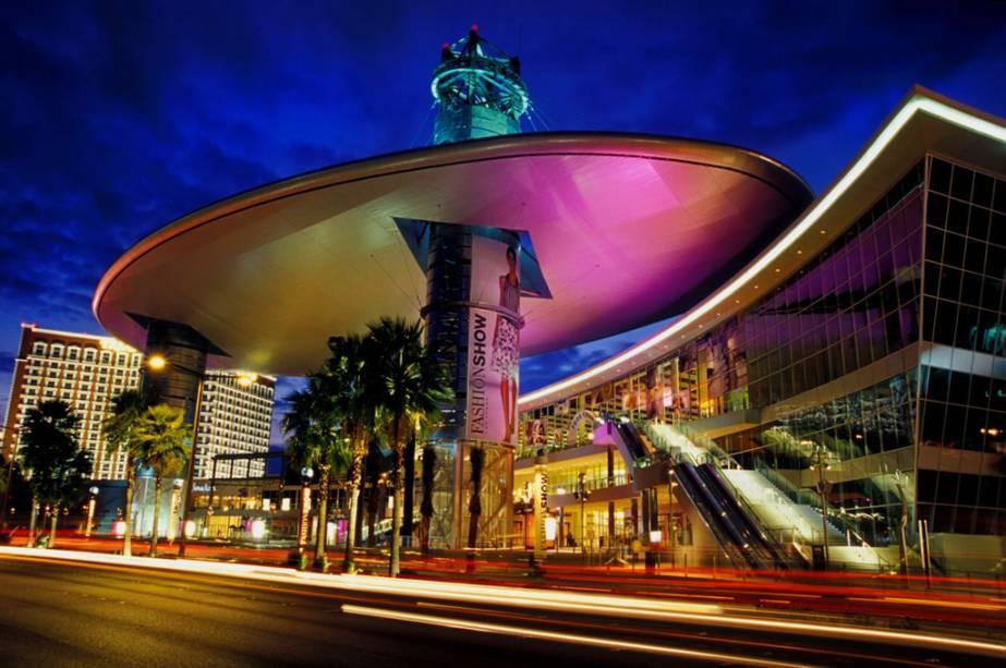 O Shopping Fashion Show Mall, em Las Vegas