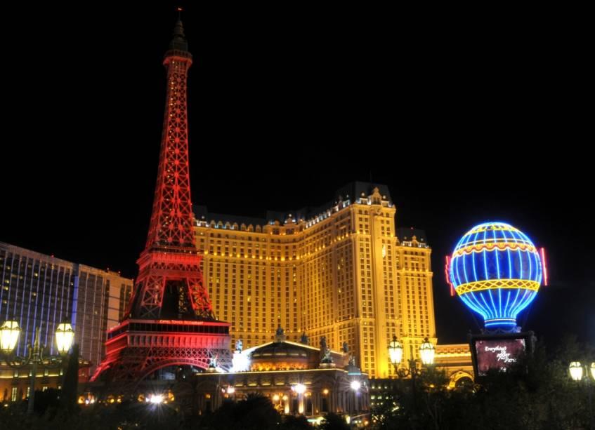 A Paris de Las Vegas, lar da maior réplica da Torre Eiffel do mundo