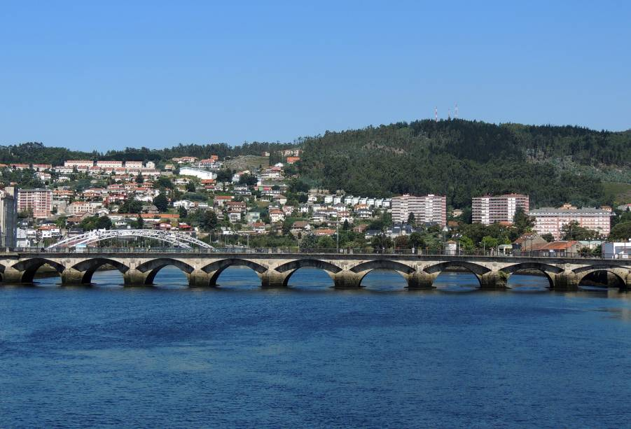 Ponte Sabntiago em Pontevedra