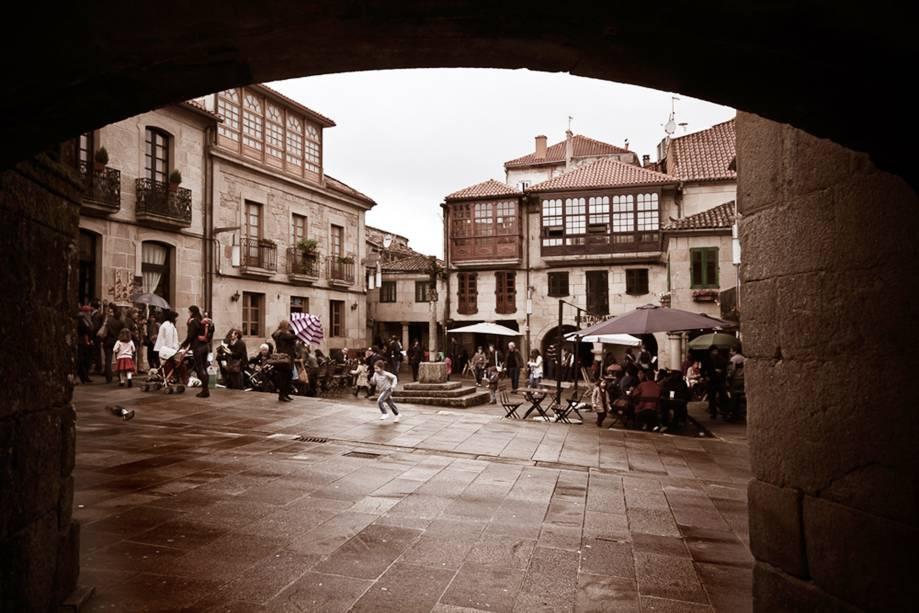 Plaza de Leña em Pontevedra