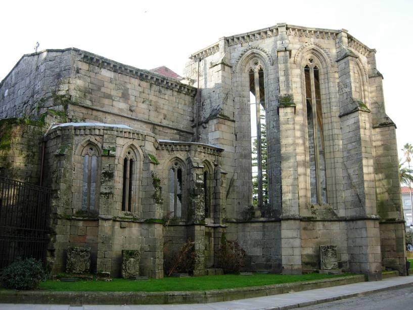 Ruínas da Igreja de Santo Domingo de Pontevedra