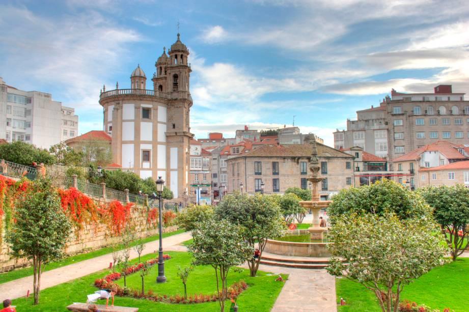 Pontevedra é uma das mais belas e belas cidades da Galiza