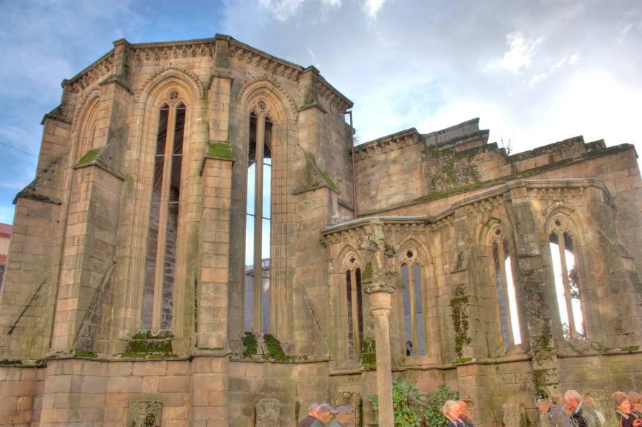 Edifícios e ruínas medievais são uma característica de Pontevedra