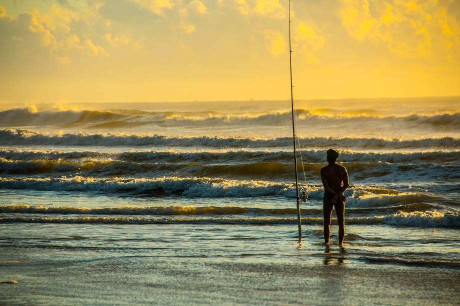 Amanhecer na Praia dos Milionários em Ilhéus