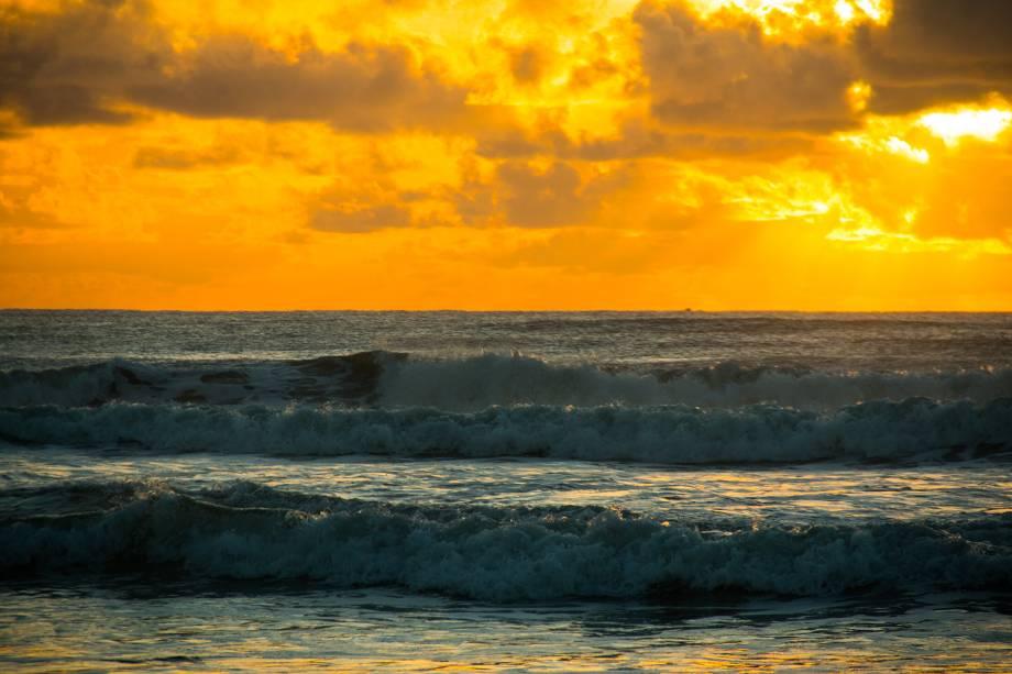 Amanhecer na Praia dos Milionários