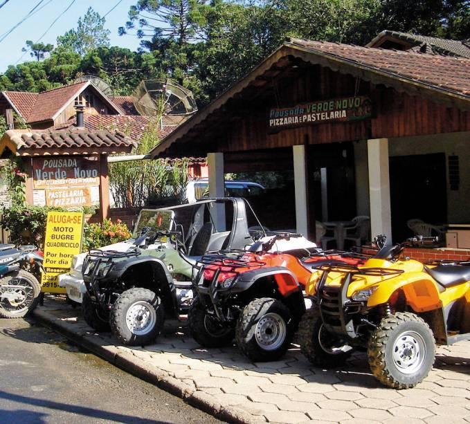 Quatro rodas e besouros para turismo