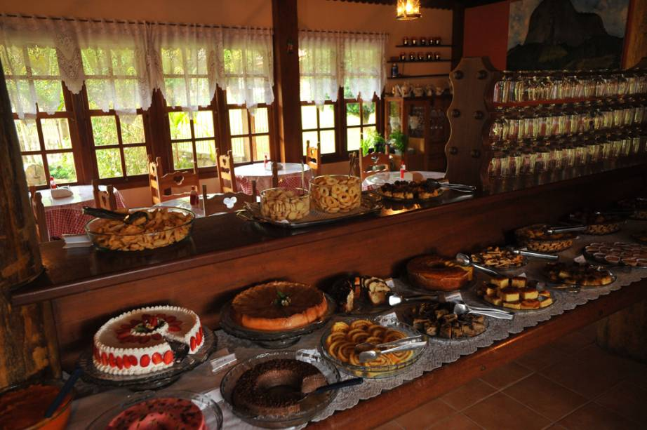 Restaurante em Pedra Azul em Domingos Martins