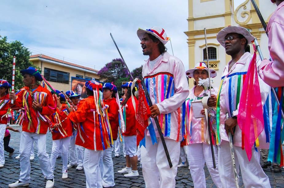 As Congadas de Atibaia são um dos mais importantes eventos culturais da cidade de São Paulo