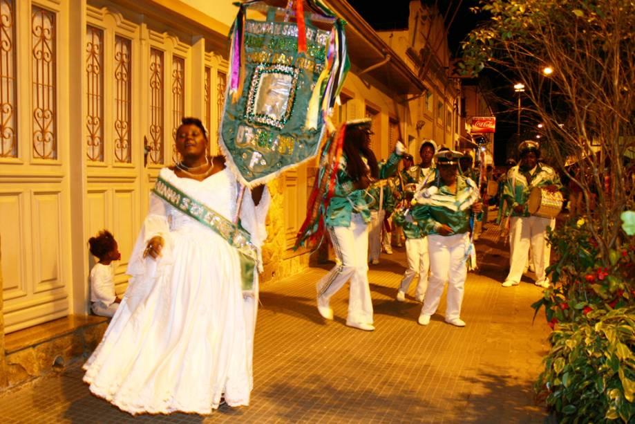 O carnaval de São Luiz do Paraitinga acontece no centro histórico e demais pontos da cidade
