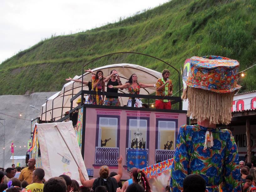 Em São Luiz do Paraitinga, o carnaval estava proibido pela Igreja Católica por 50 anos até sua publicação em 1981